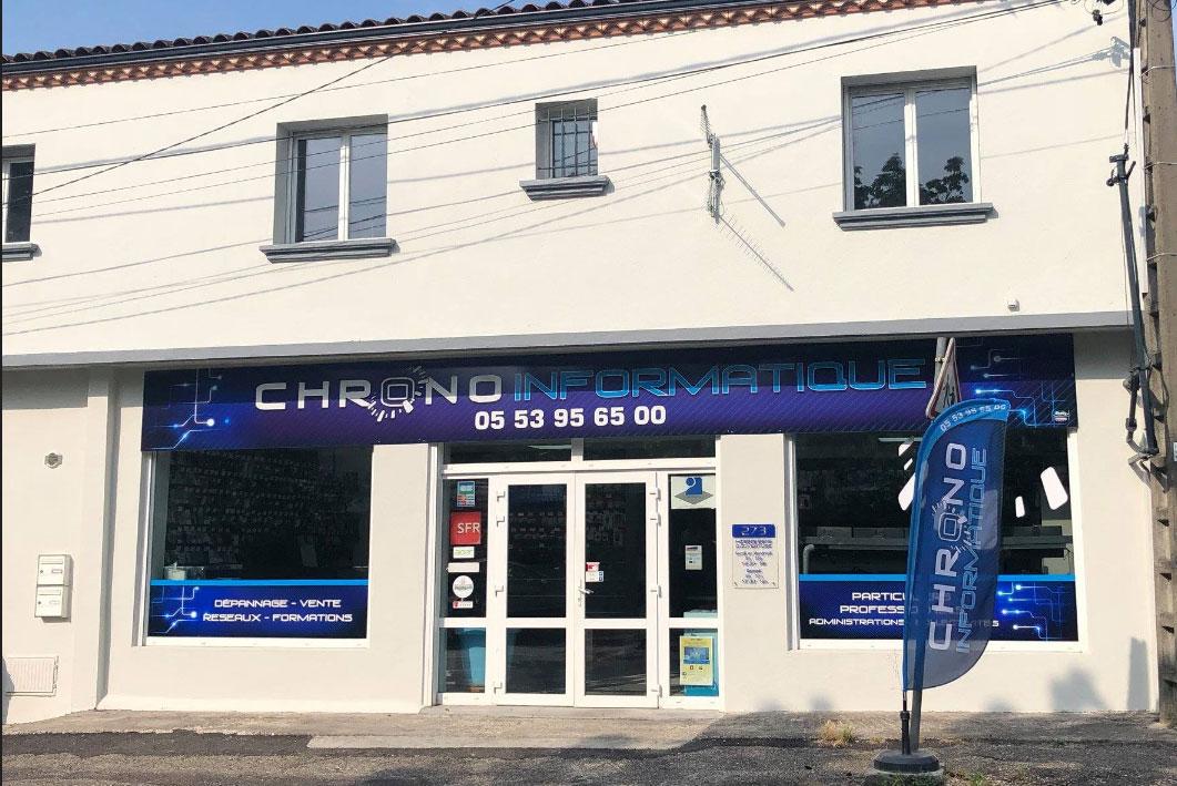 la magasin Chrono informatique pour les particuliers