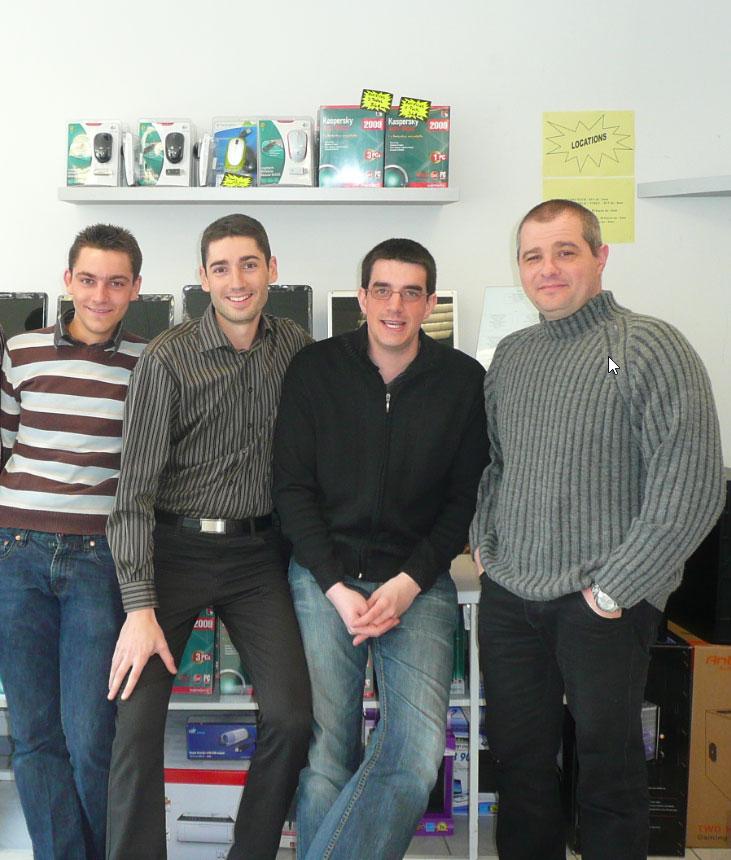 L'équipe en 2010